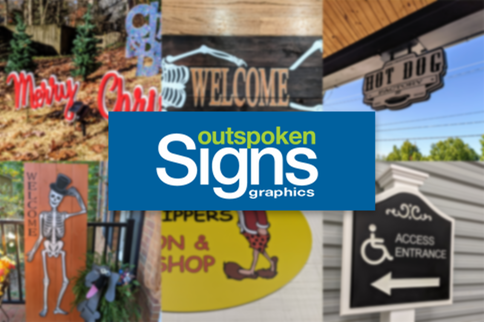 Outspoken Signs